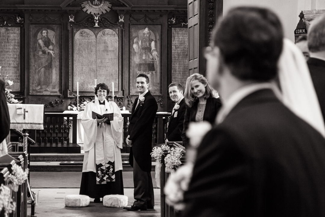St Marys Church Shotley Suffolk Wedding Photographer