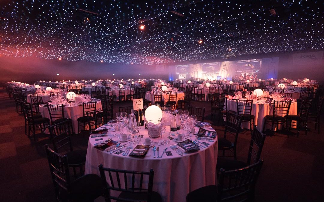 Event Photography at Battersea Evolution for the UK Rail Industry Awards 2017