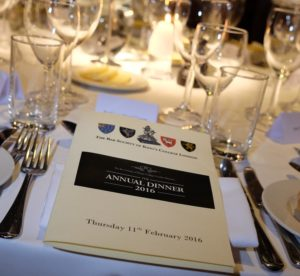Black tie dinner photographer London
