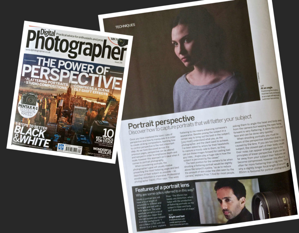 david j prior in digital photographer magazine
