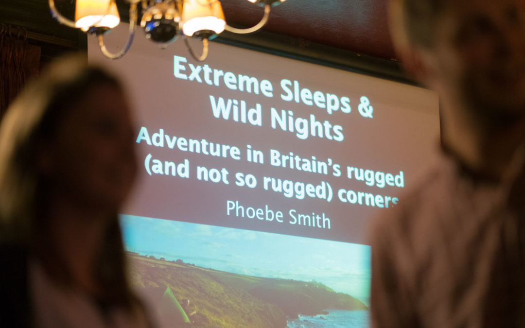 Teaser shots from Wanderlust Magazine's Phoebe Smith Talk for Inspire Your Adventure