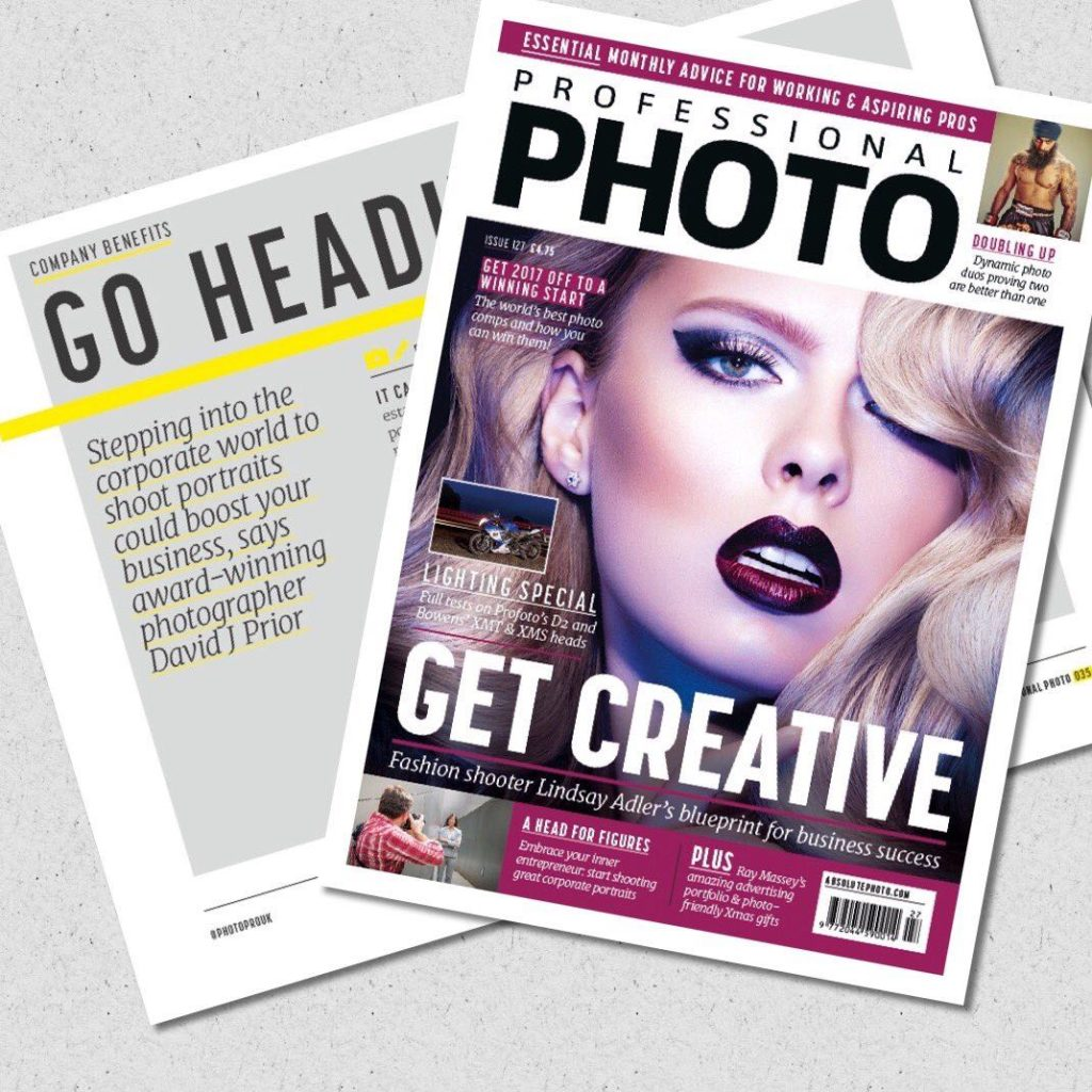 Corporate Headshot Photographer Magazine